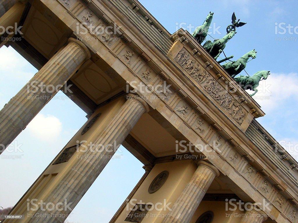 brandenburger tor Berlin royalty-free stock photo