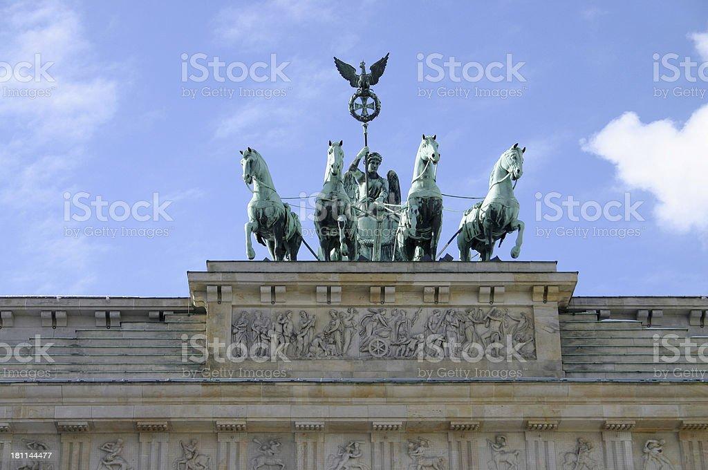 Brandenburger Tor, Berlin royalty-free stock photo