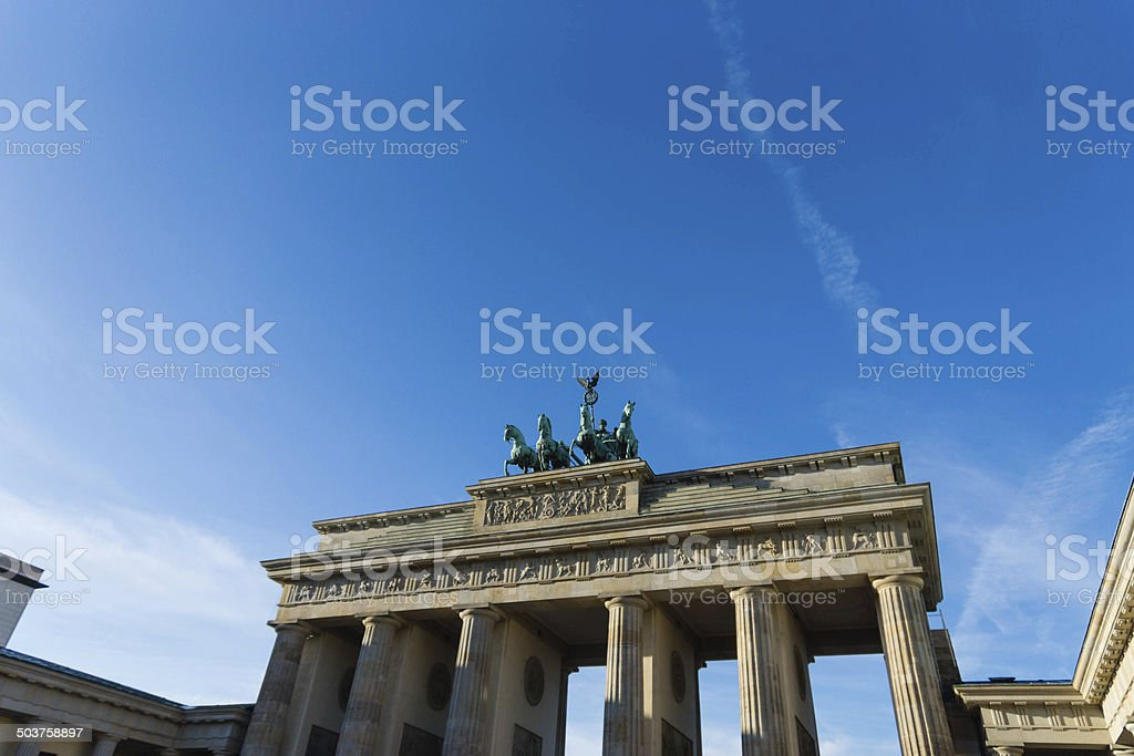 Branderburg gate, Berlin. stock photo