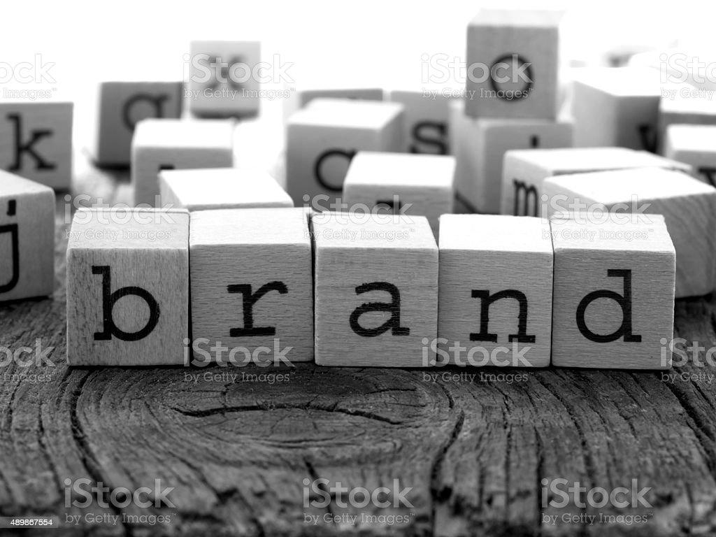 Branding concept stock photo
