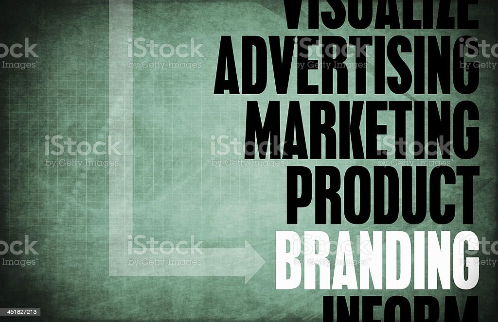 Branding royalty-free stock photo