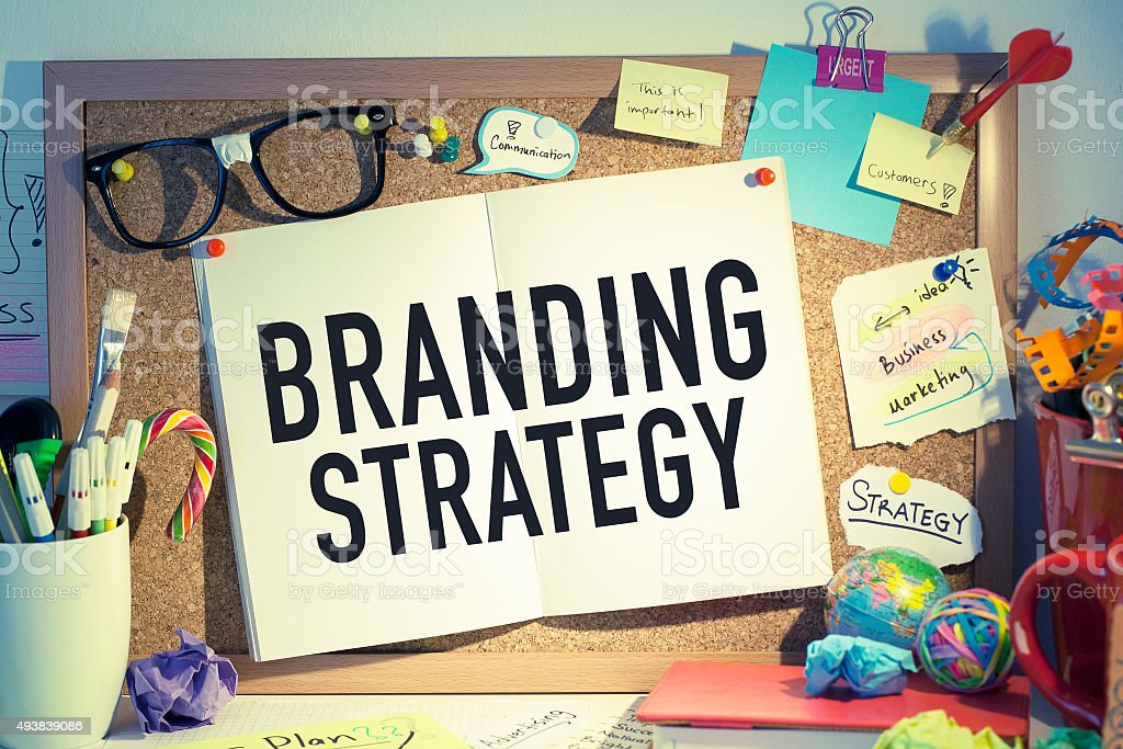 Branding Strategy stock photo