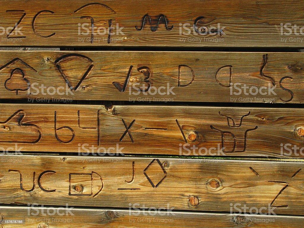 Branding Symbols Cattle stock photo