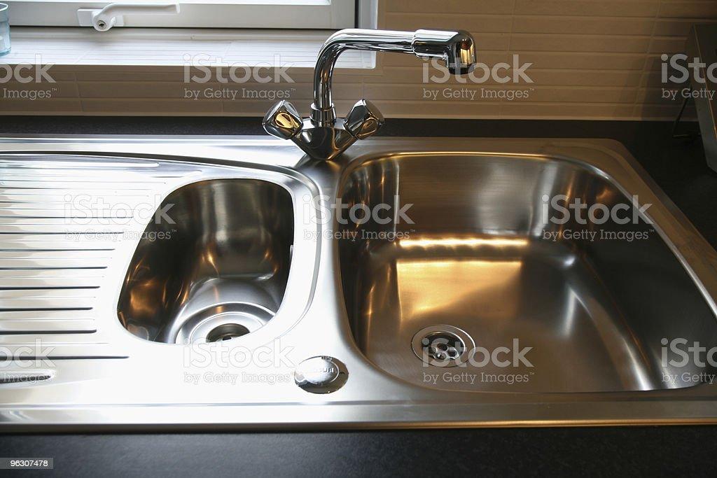 BrandNew Kitchen Sink stock photo