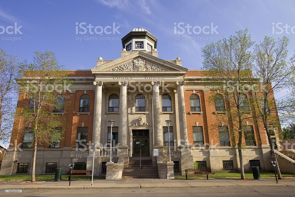 Brandon, Manitoba stock photo