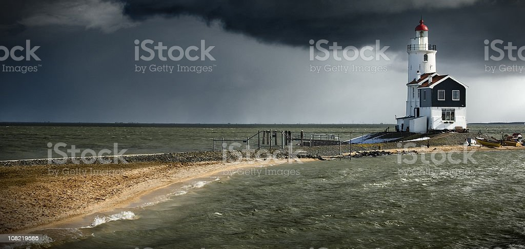 Marken lighthouse royalty-free stock photo
