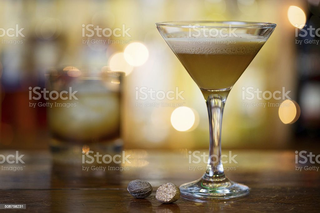Brandy Alexander stock photo