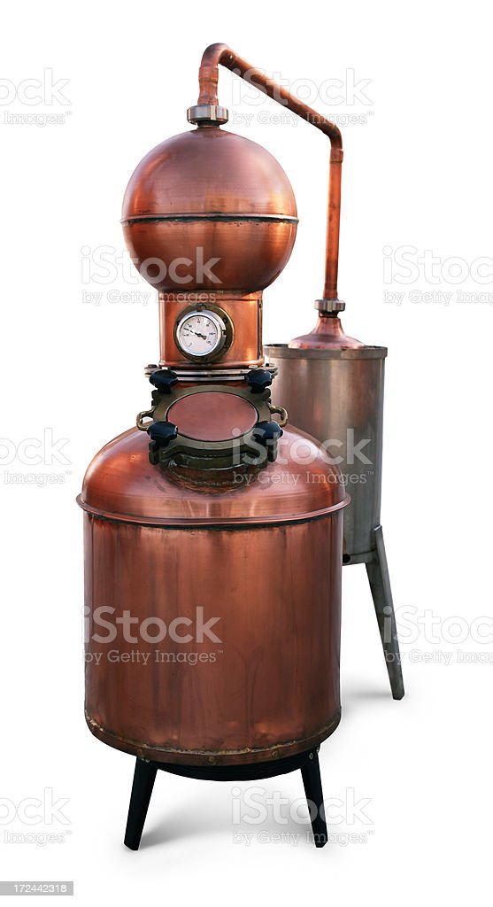 Brandy Distillery stock photo