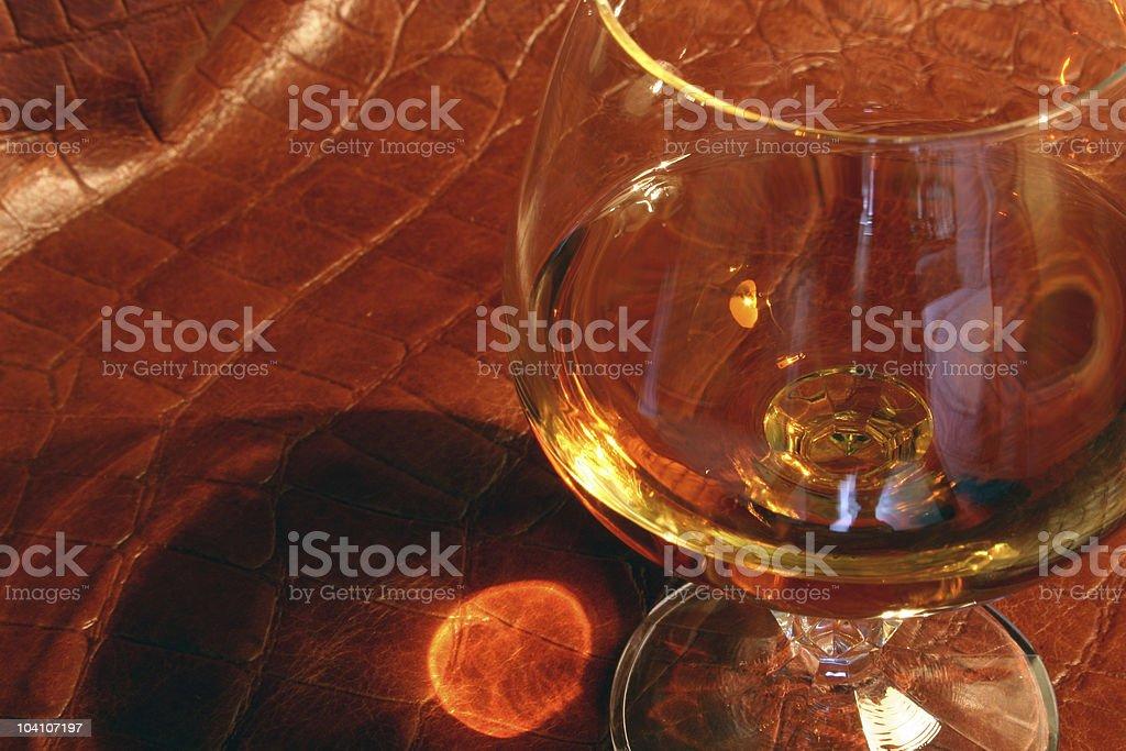 Brandy royalty-free stock photo