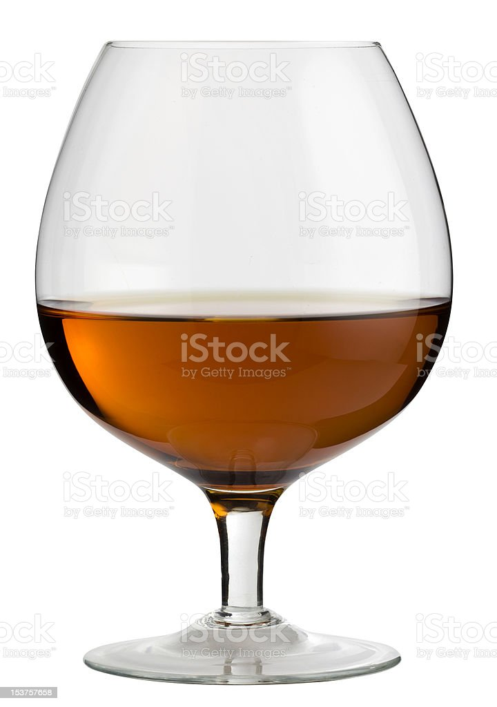 Brandy Snifter royalty-free stock photo