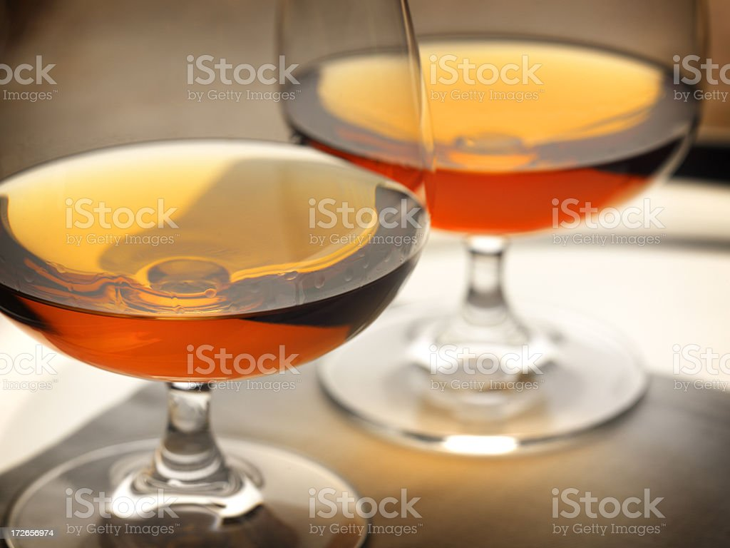 Brandy Snifters royalty-free stock photo