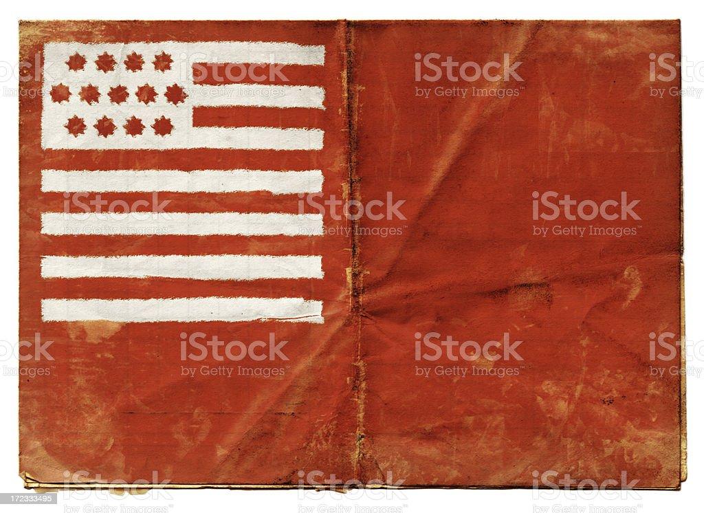 Brandywine Flag (XXL) royalty-free stock photo