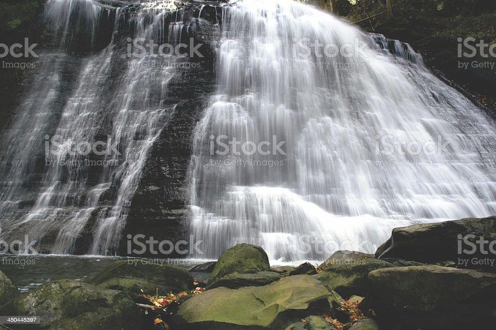 Brandywine Waterfall, Ohio stock photo