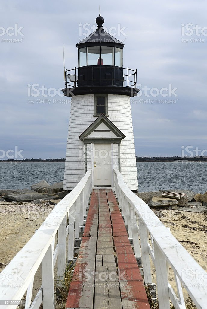 Brant Point Light, Nantucket royalty-free stock photo