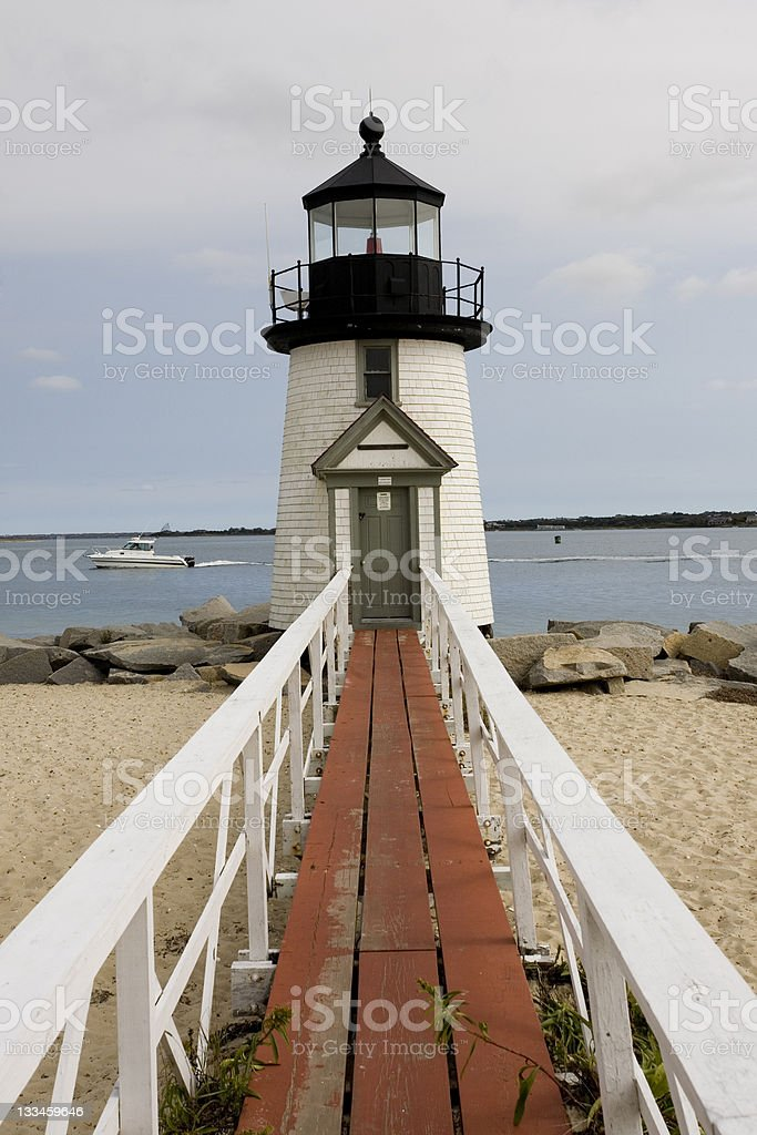 Brant Point Lighthouse royalty-free stock photo