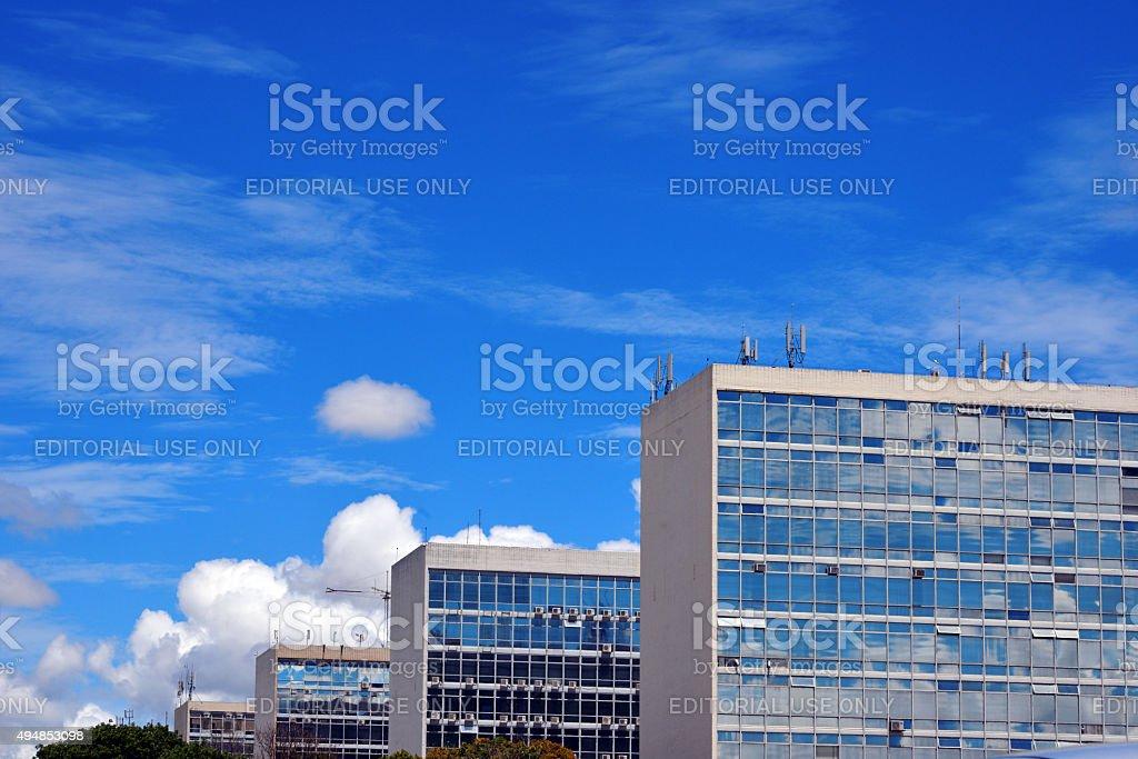 Brasilia, Brazil: Government buildings stock photo