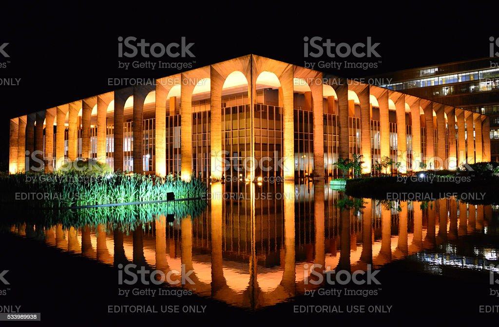Brasilia, Brazil: Ministry of External Relations stock photo