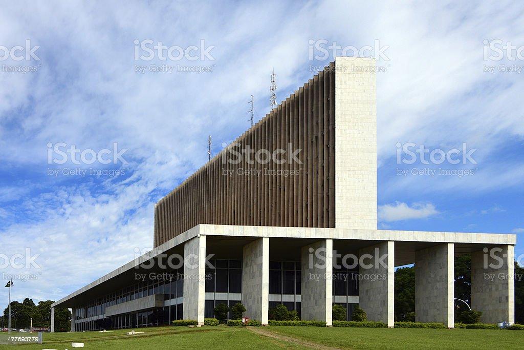 Brasilia: Court of Justice stock photo