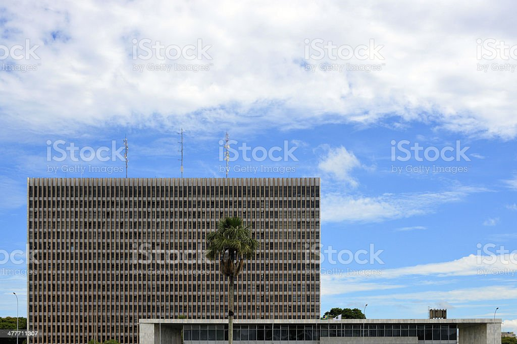 Brasilia: Government of the Federal District building stock photo