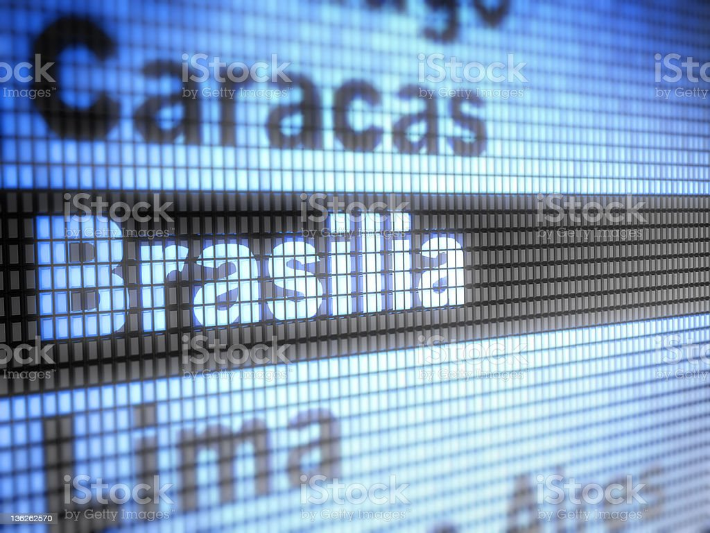 Brasilia royalty-free stock photo