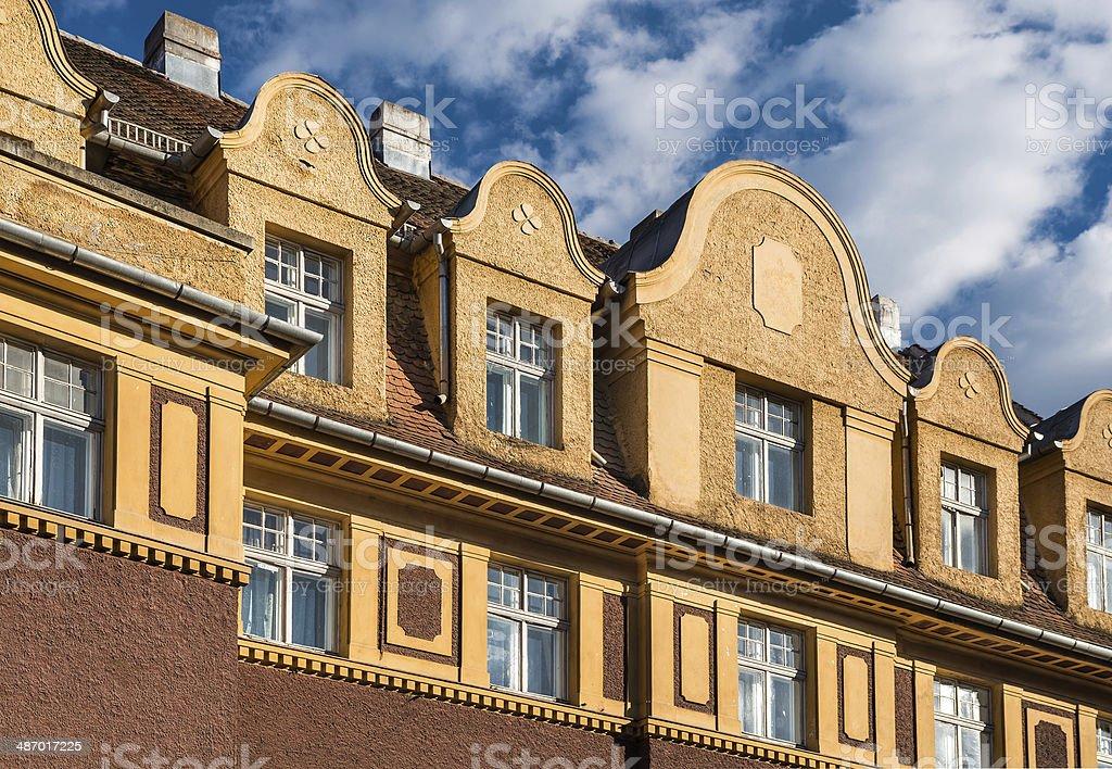 Brasov, architecture detail royalty-free stock photo