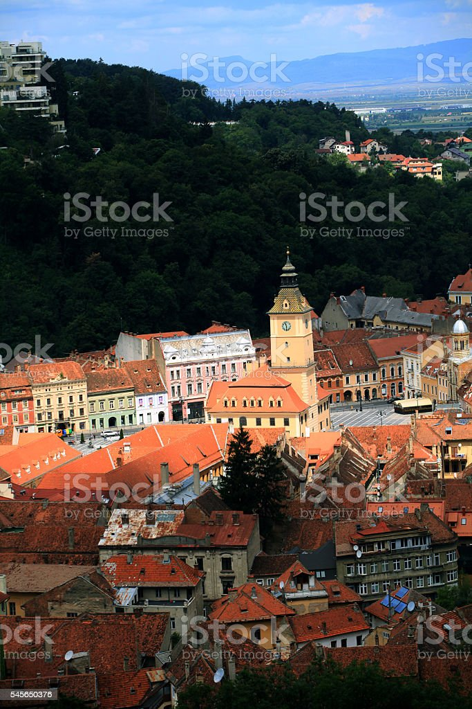 Brasov Cityscape stock photo