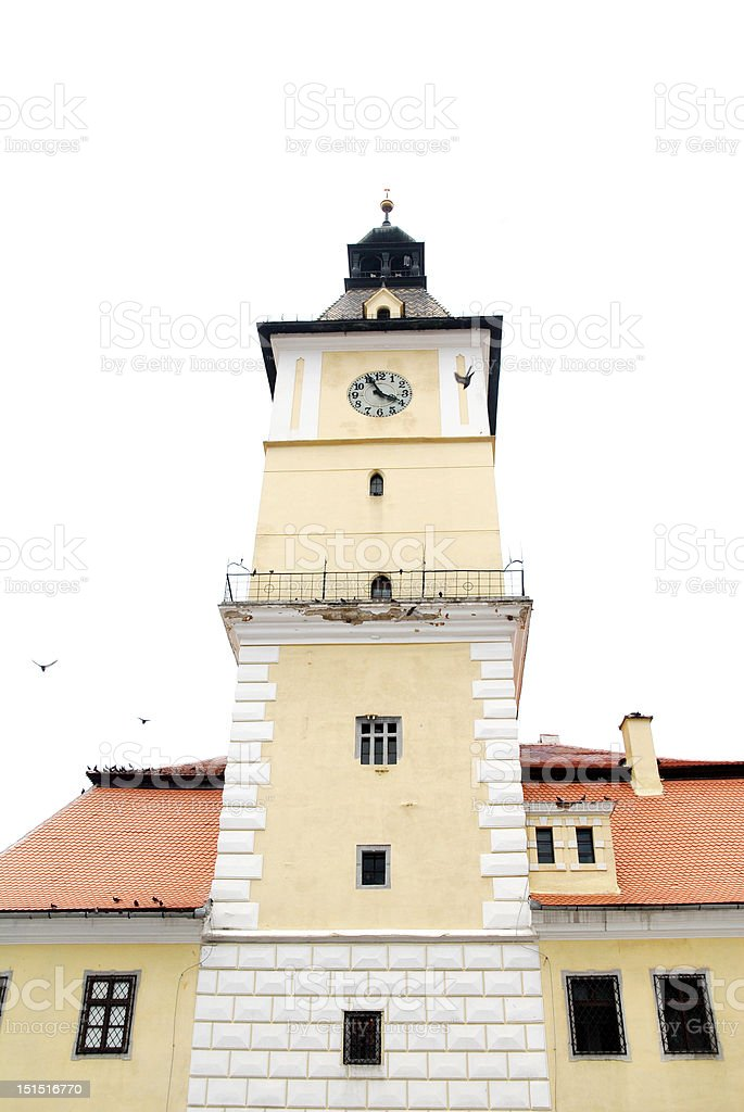 Brasov Council House royalty-free stock photo
