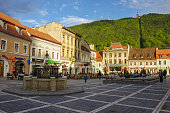 Brasov Council Square is historical center