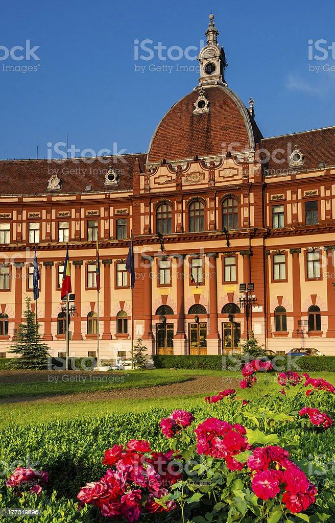 Brasov, Romania, neobaroque architecture stock photo