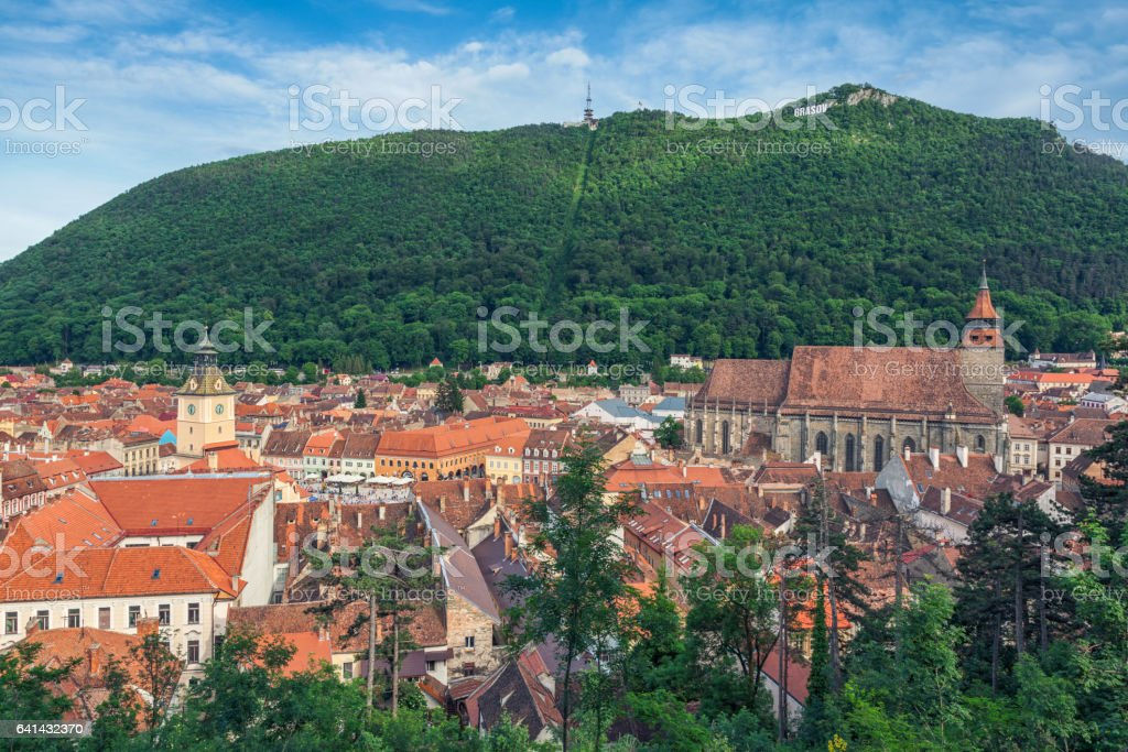 Brasov, Romania stock photo