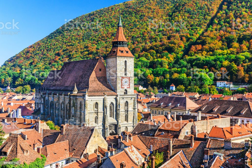 Brasov, Romania. stock photo