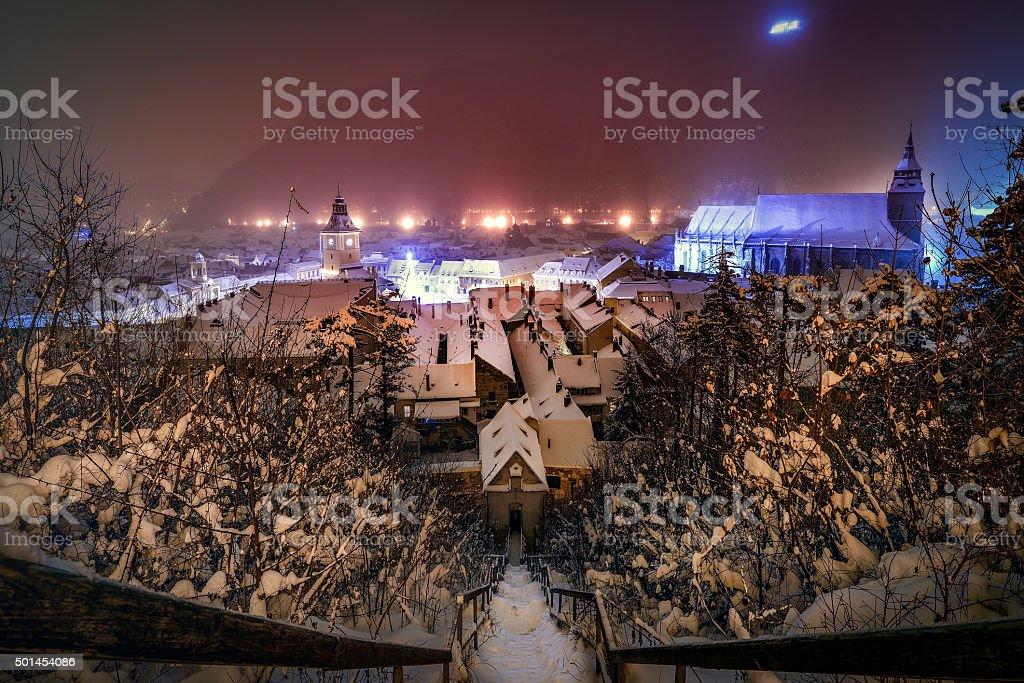 Brasov, Romania's Magical City stock photo