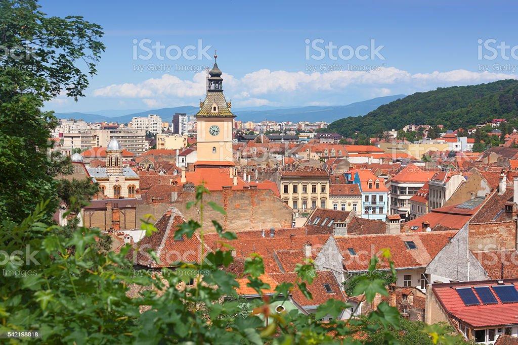 Brasov, Transylvania stock photo
