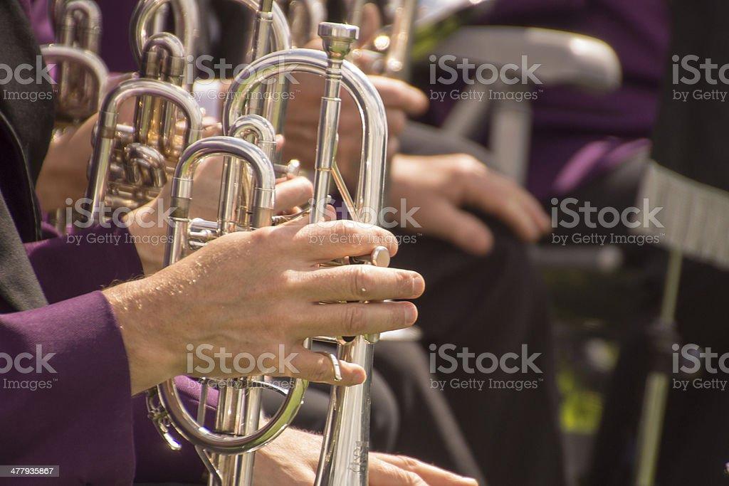 Brass Band royalty-free stock photo