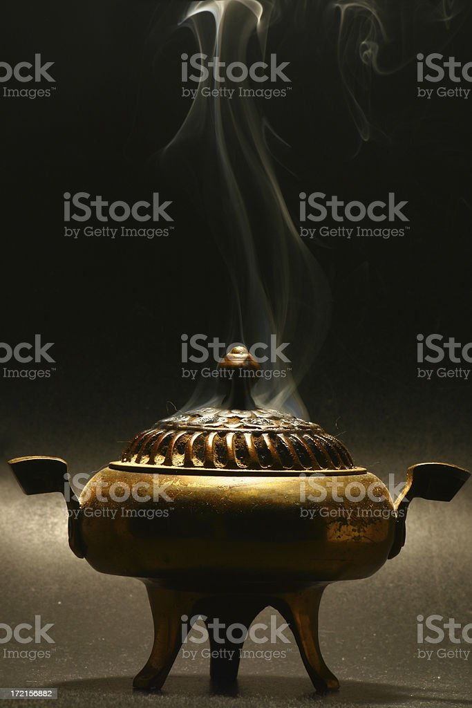 Brass Censer royalty-free stock photo