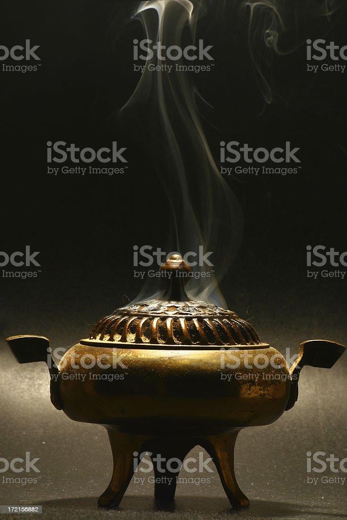 Brass Censer stock photo