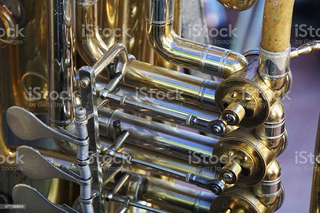 Brass Instruments stock photo