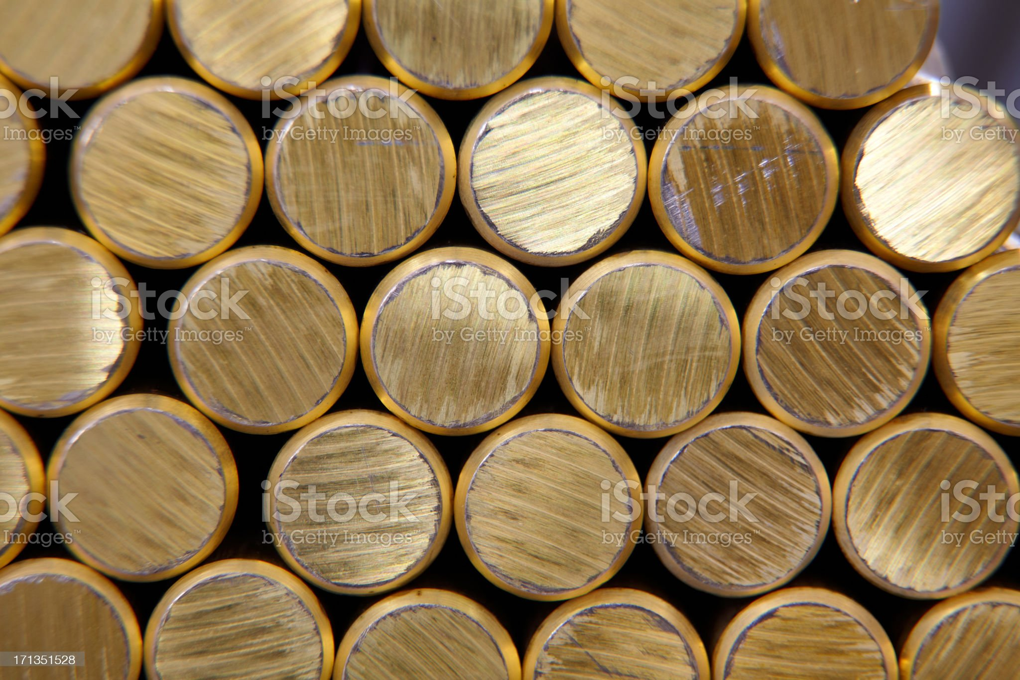 brass pipes royalty-free stock photo