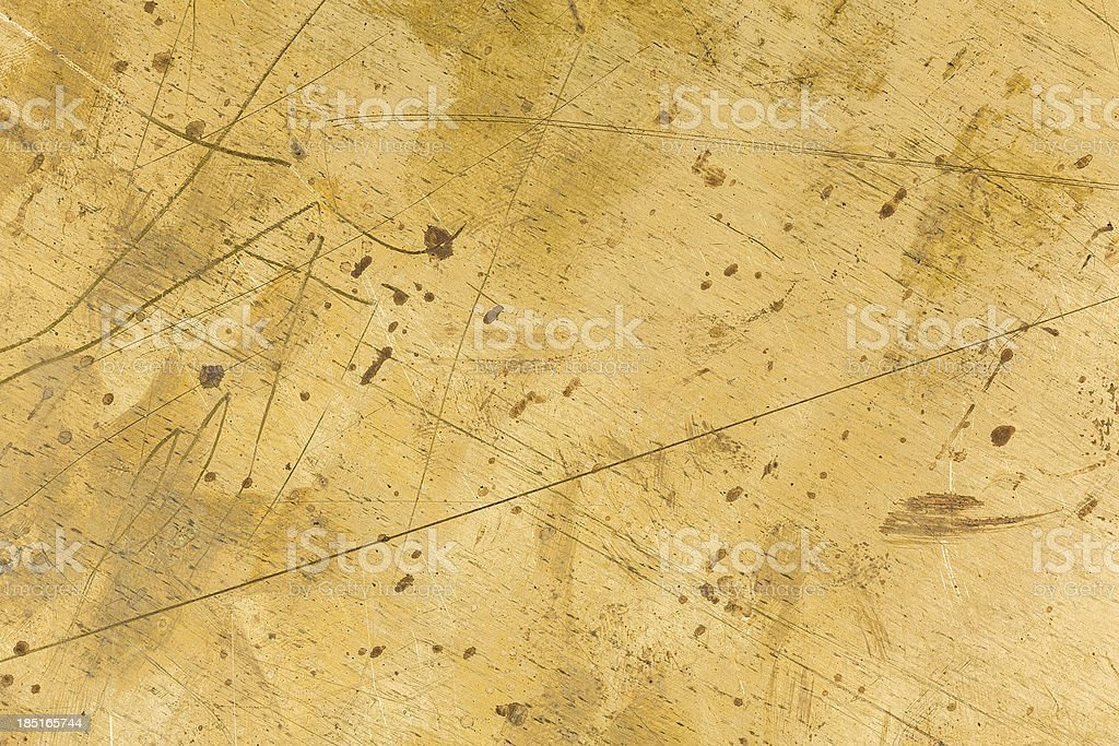 Brass plate texture royalty-free stock photo