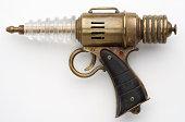 Brass Steampunk / Retro blaster ray gun