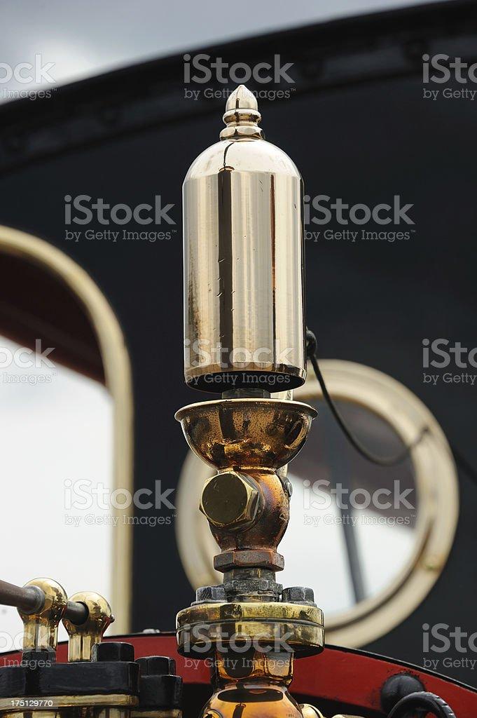Brass Whistle royalty-free stock photo