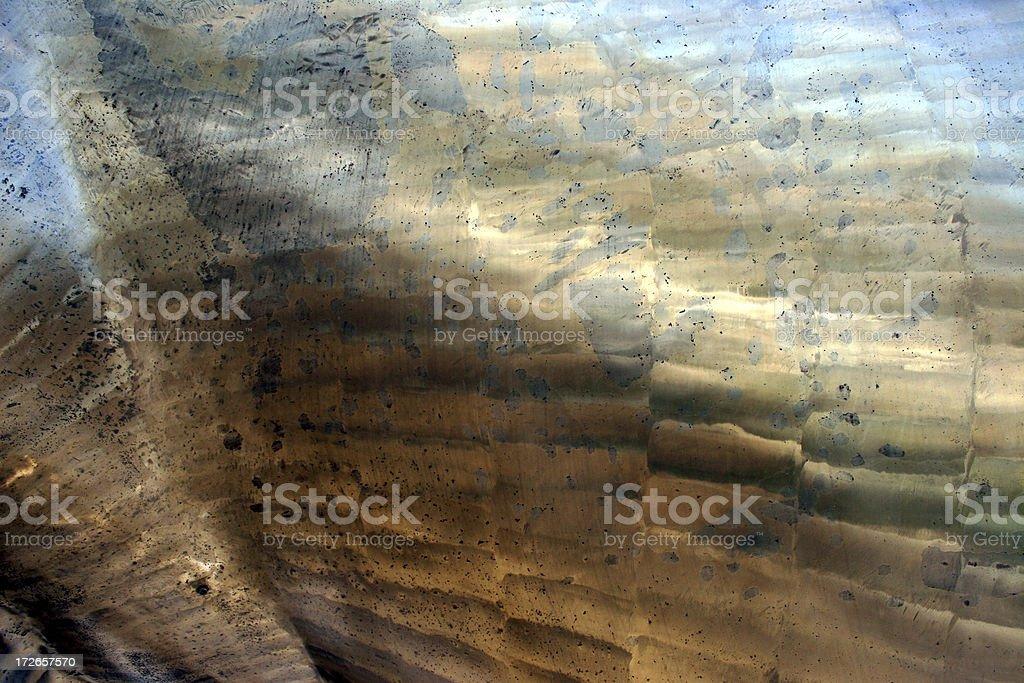 brassy golden metal texture royalty-free stock photo
