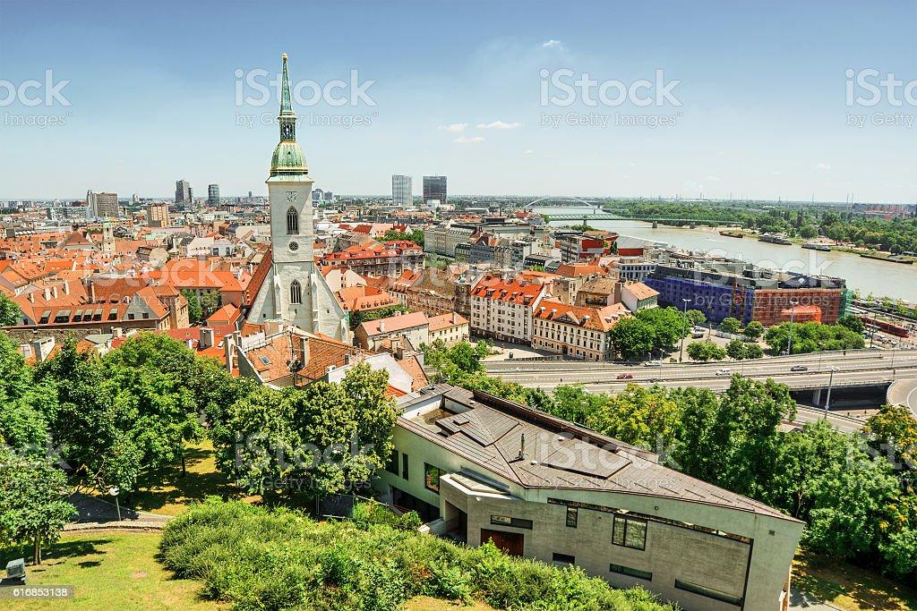 Bratislava HDR stock photo