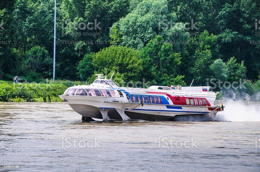 Bratislava High Speed Ferry stock photo