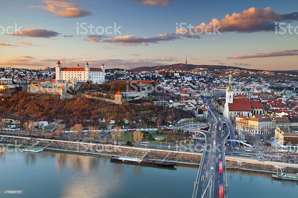 Bratislava, Slovakia. stock photo