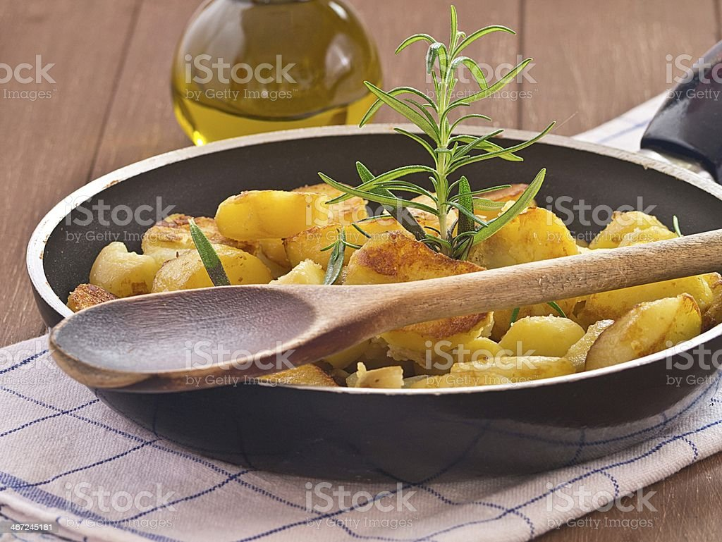 Bratkartoffeln stock photo