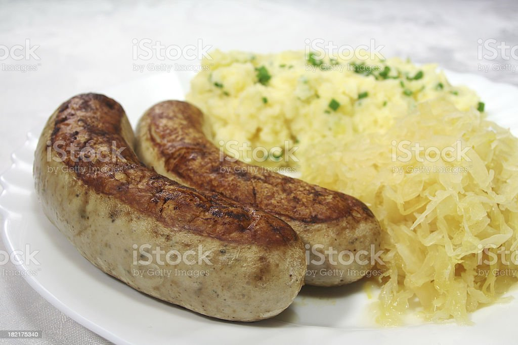Bratwurst stock photo