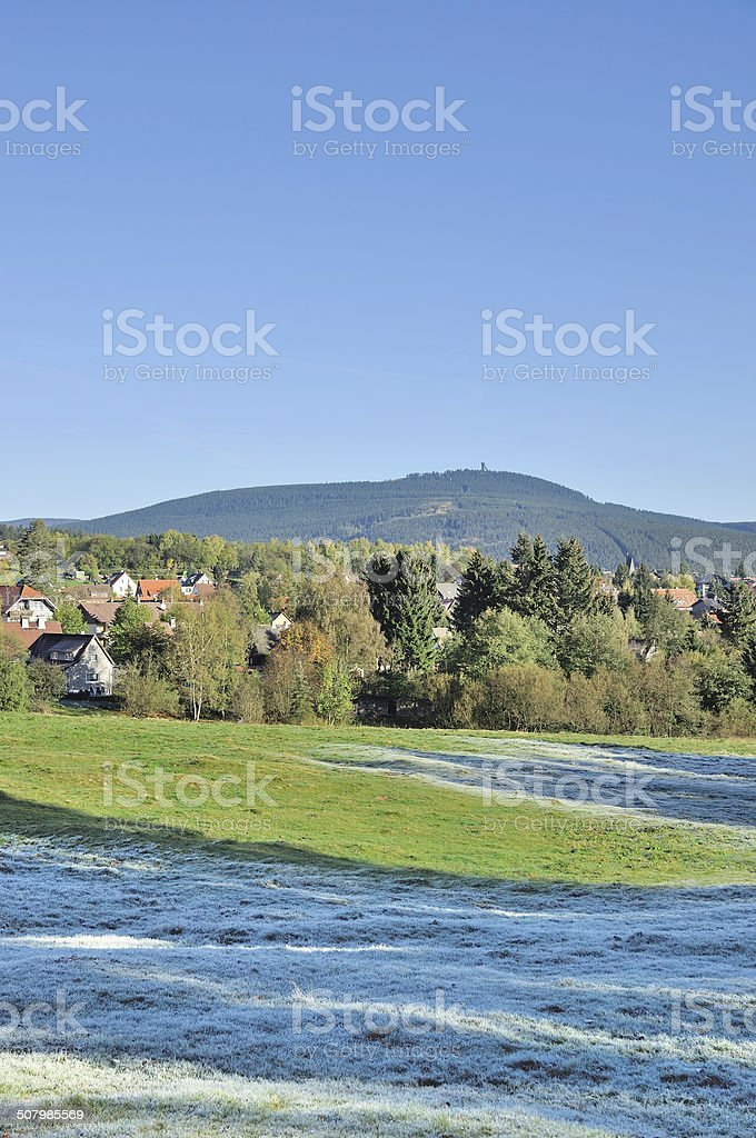 Braunlage,Harz Mountain,Germany stock photo