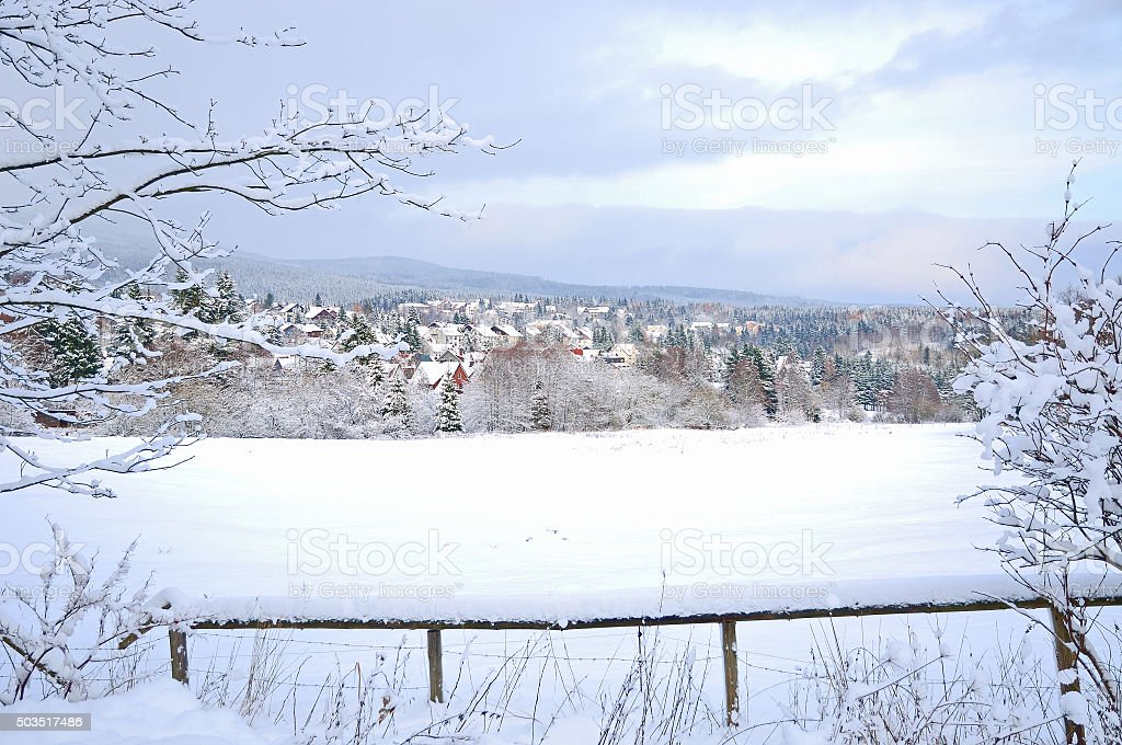 Braunlage,Harz,Germany stock photo