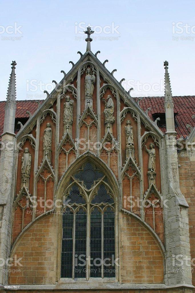Braunschweig - church arch stock photo